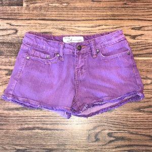Girls Vintage Havana Shorts